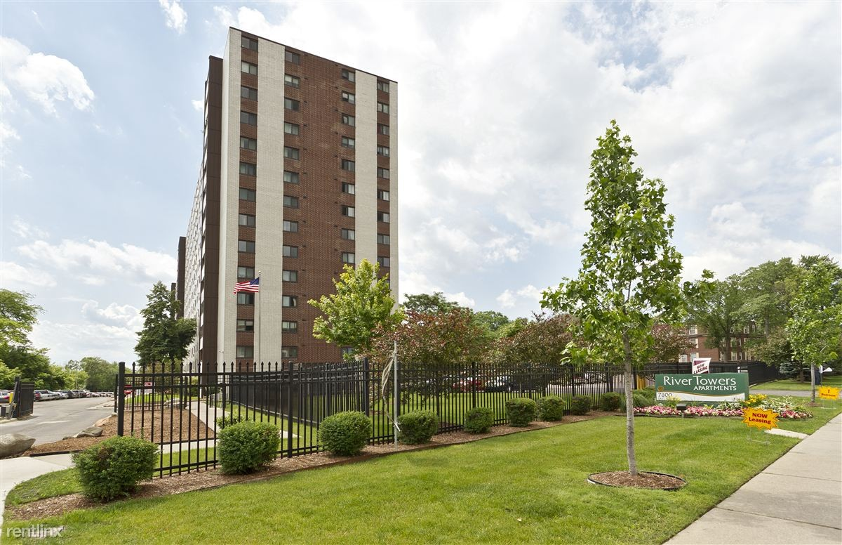 river towers apartments for rent 7800 e jefferson ave