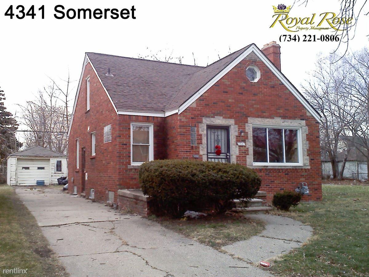4341 Somerset Ave Detroit Mi 48224 3 Bedroom House For