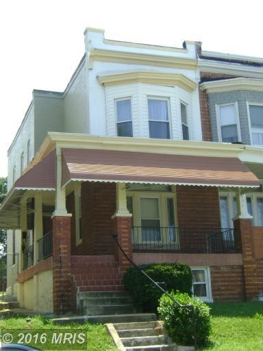 2821 Winchester St Baltimore Md 21216 3 Bedroom House