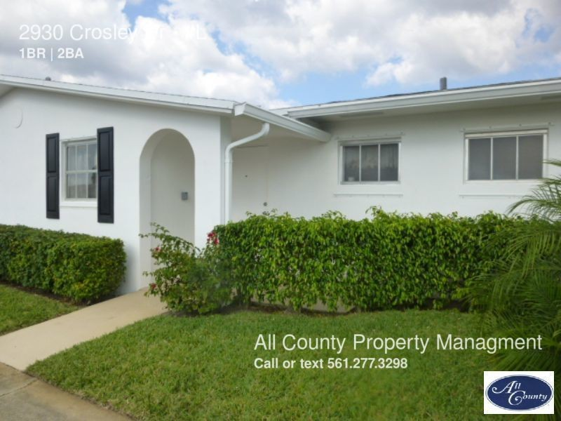 2998 2800 Crosley Dr E L West Palm Beach Fl 33415 1 Bedroom Apartment For Rent Padmapper