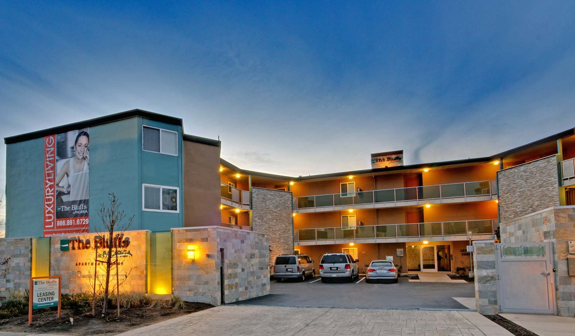 The Bluffs at Pacifica Apartments