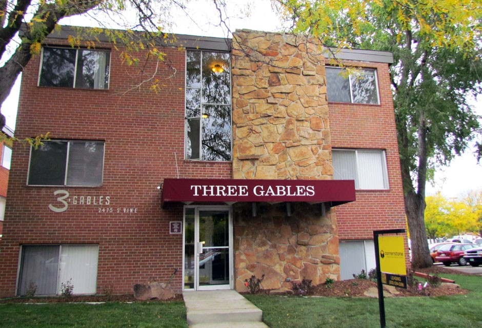 Three Gables for rent