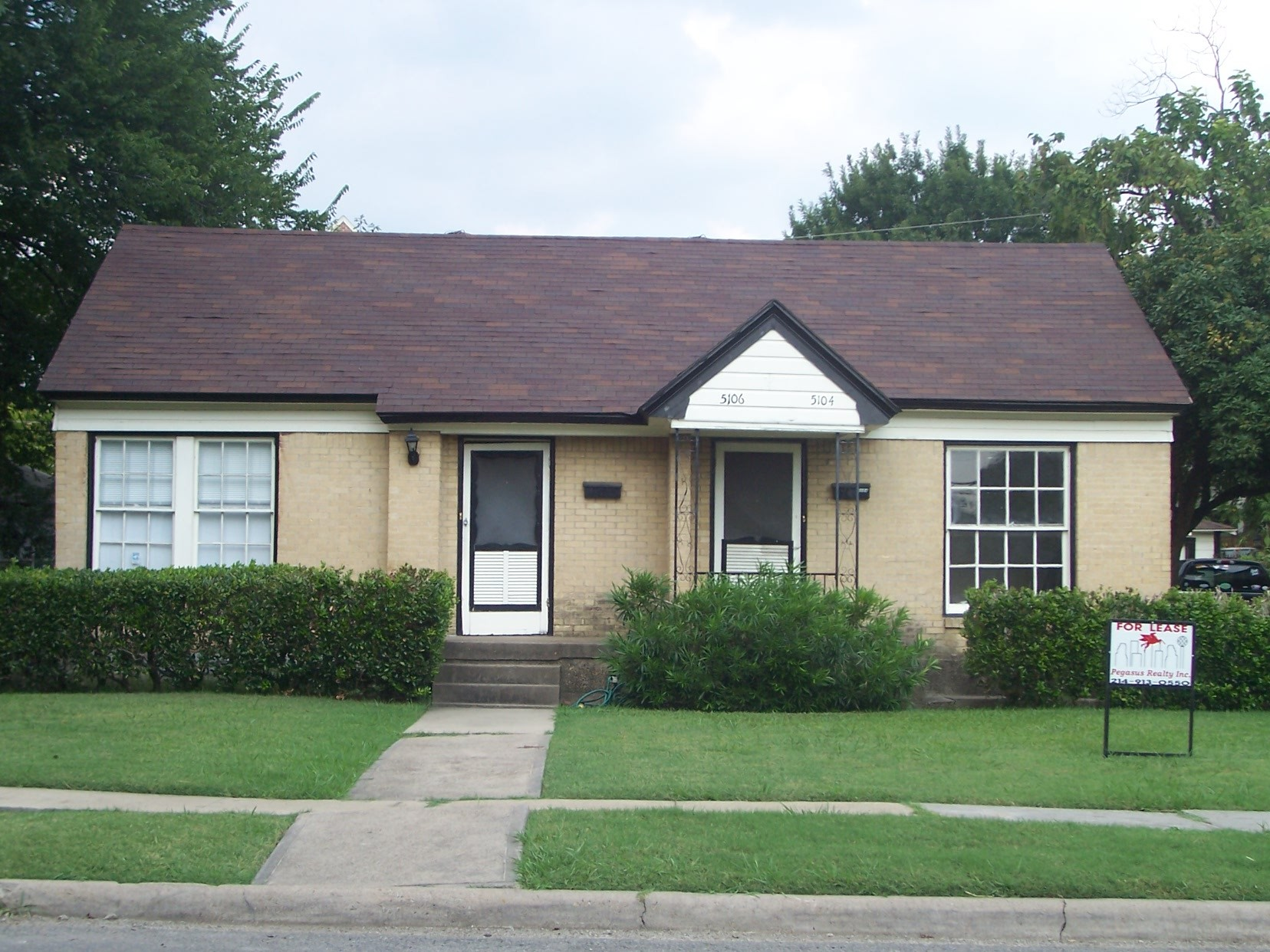5106 North Hall Street Dallas TX 2 Bedroom Apartment for