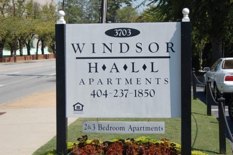 Windsor Hall for rent