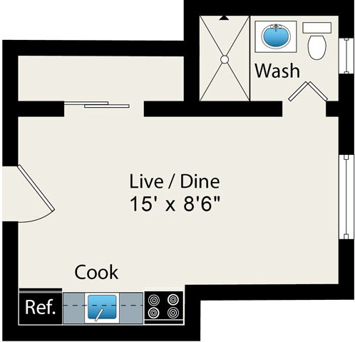 Reside at 2525