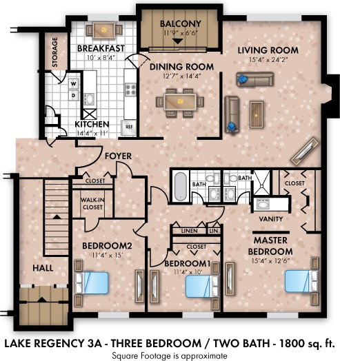 Regency Lakeside Apartments Omaha 2a: Regency Lakeside Apartment Homes, Omaha