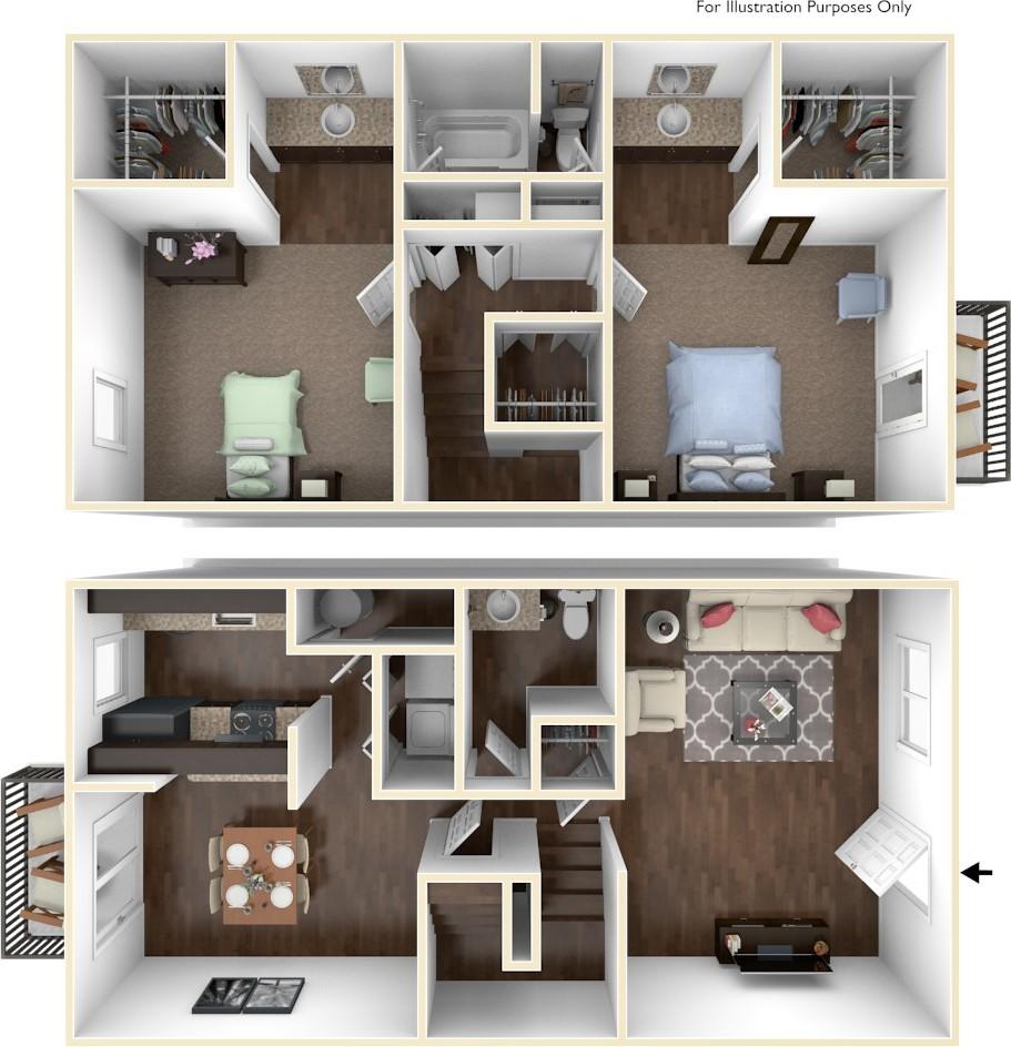 Cedar Hill Apartments: Cedar Trace Apartments, Maryland Heights