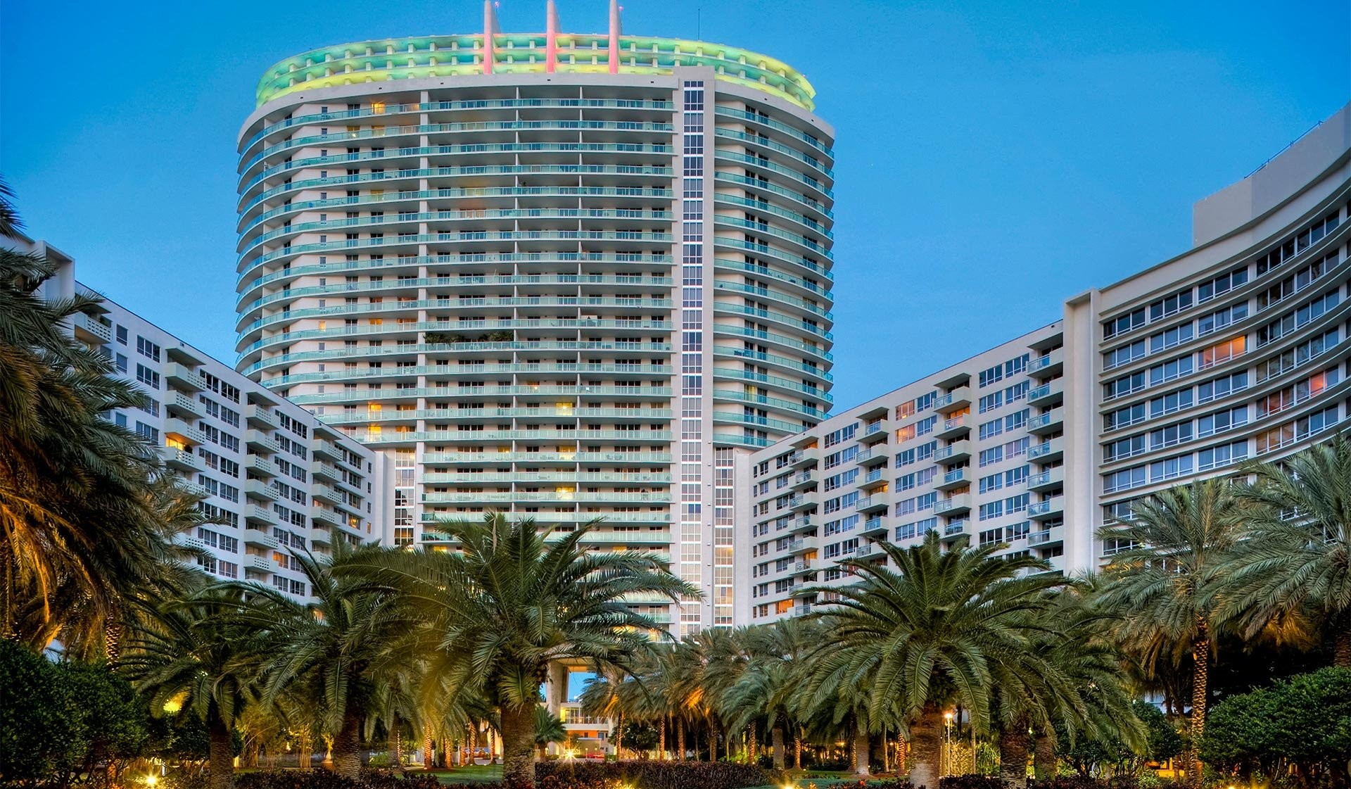 Flamingo South Beach North and South Towers rental