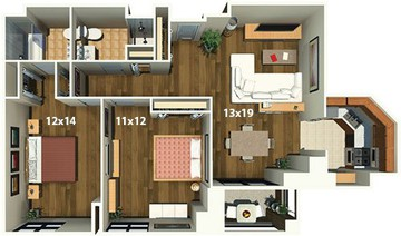 Evanston Place Apartments - 1715 Chicago Ave, Chicago, IL 60201 ...