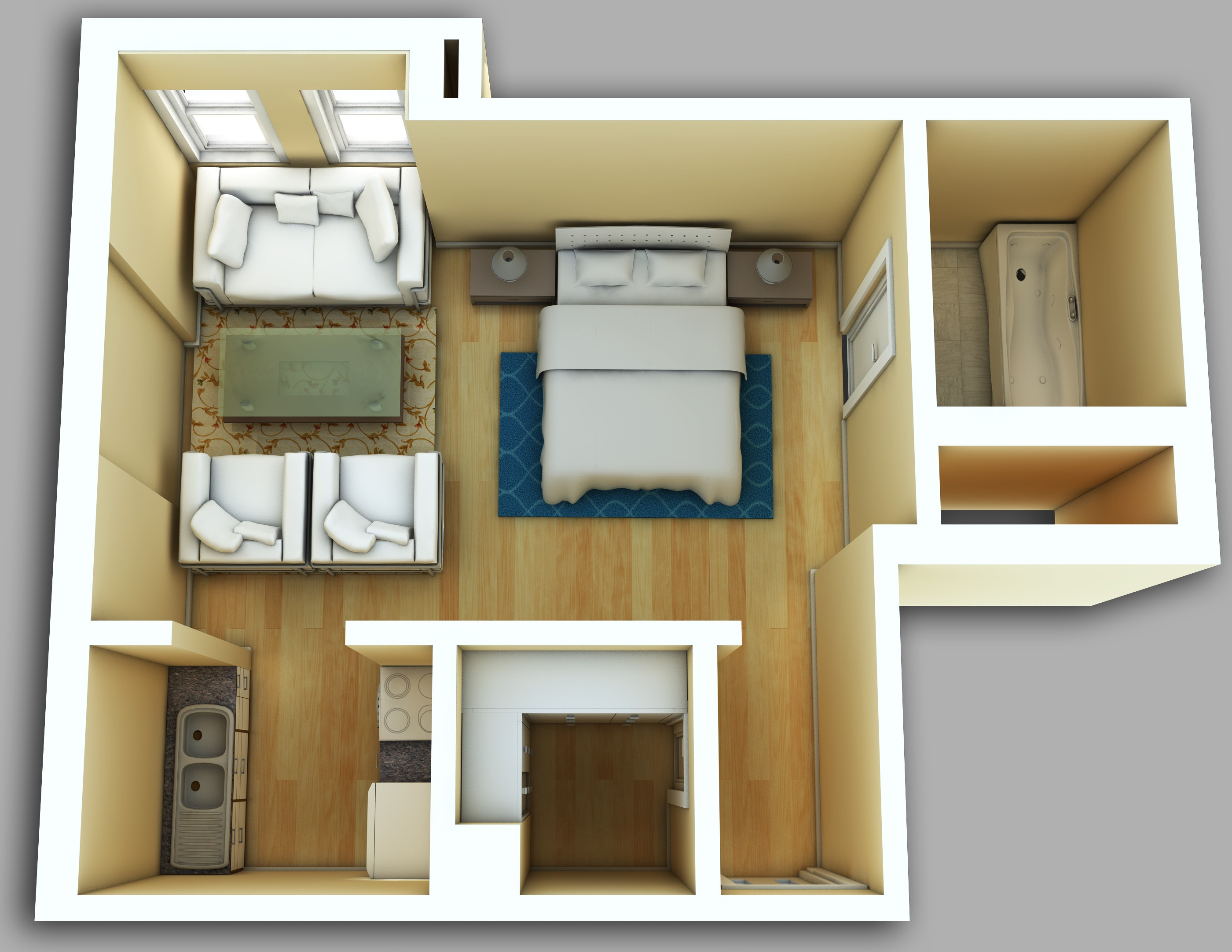 Park View Apartments, Chicago - (see pics & AVAIL)