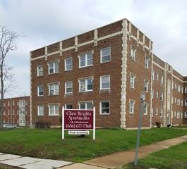 4917 mcpherson ave st louis mo 63108 studio apartment for rent