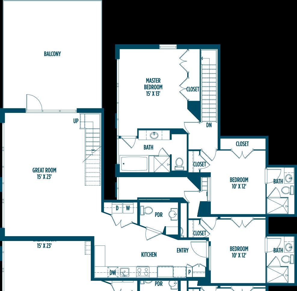 Foundry Lofts, Washington - (see pics & AVAIL)