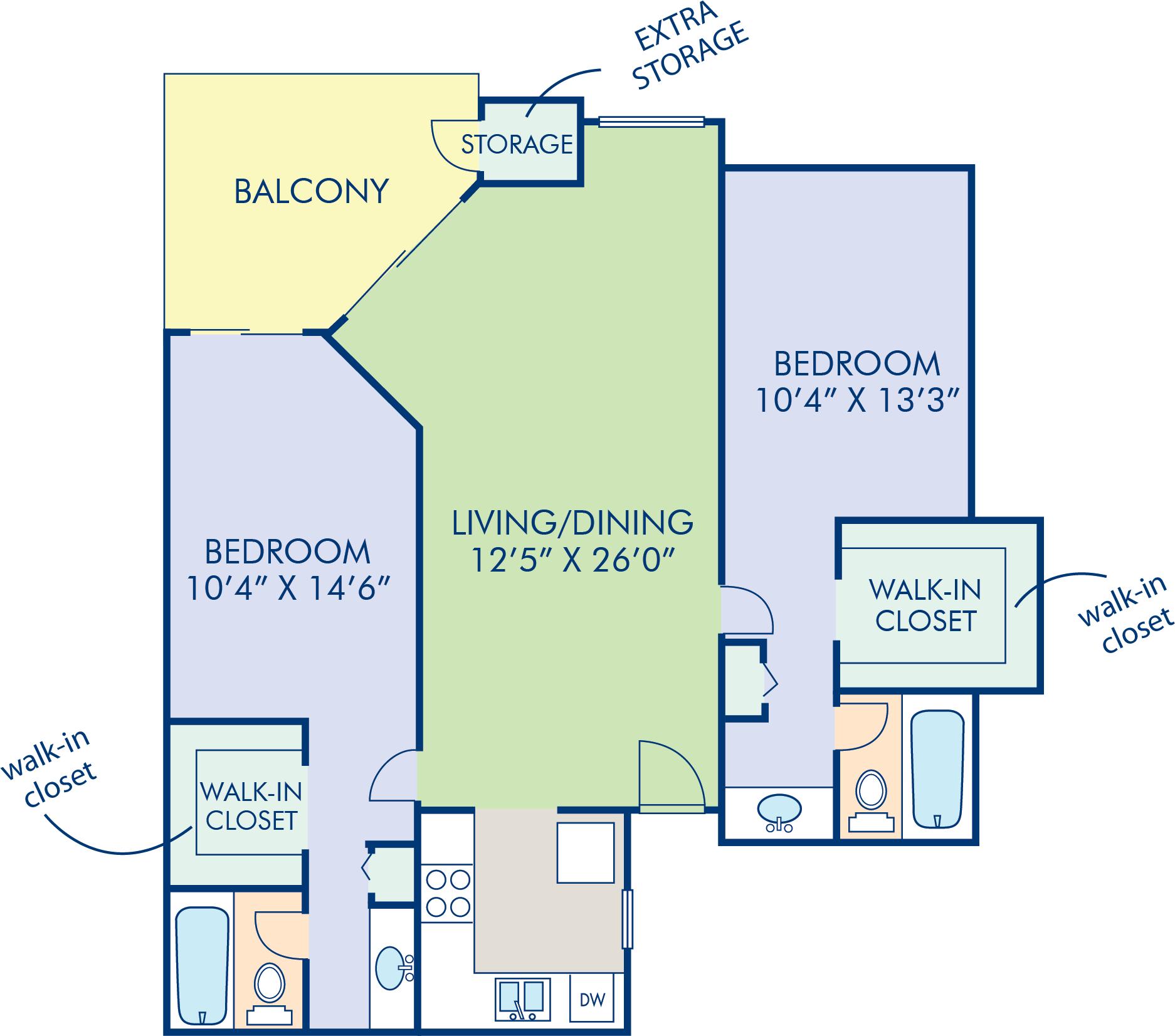 Pinecreek Apartments: Camden Martinique, Costa Mesa