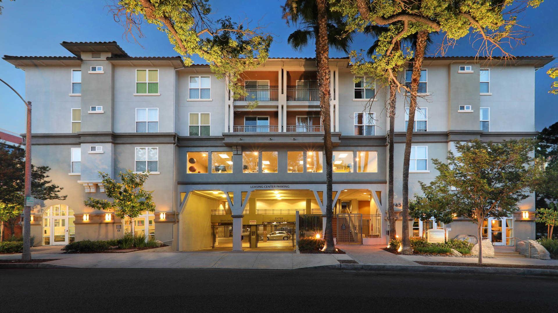 Apartments Near Art Center Acappella Pasadena for Art Center College of Design Students in Pasadena, CA