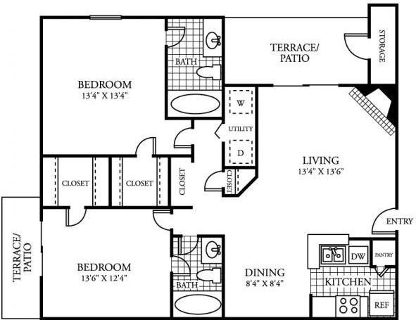 Hidden Lake Apartment Homes (Houston)
