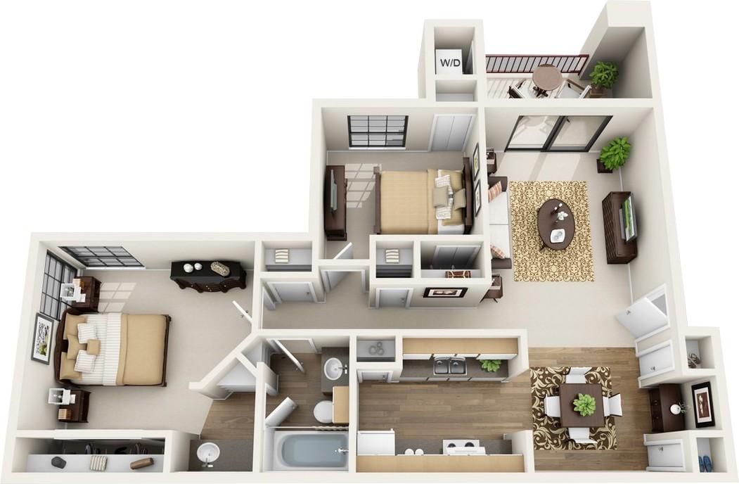 Villas of Henderson Pass rental