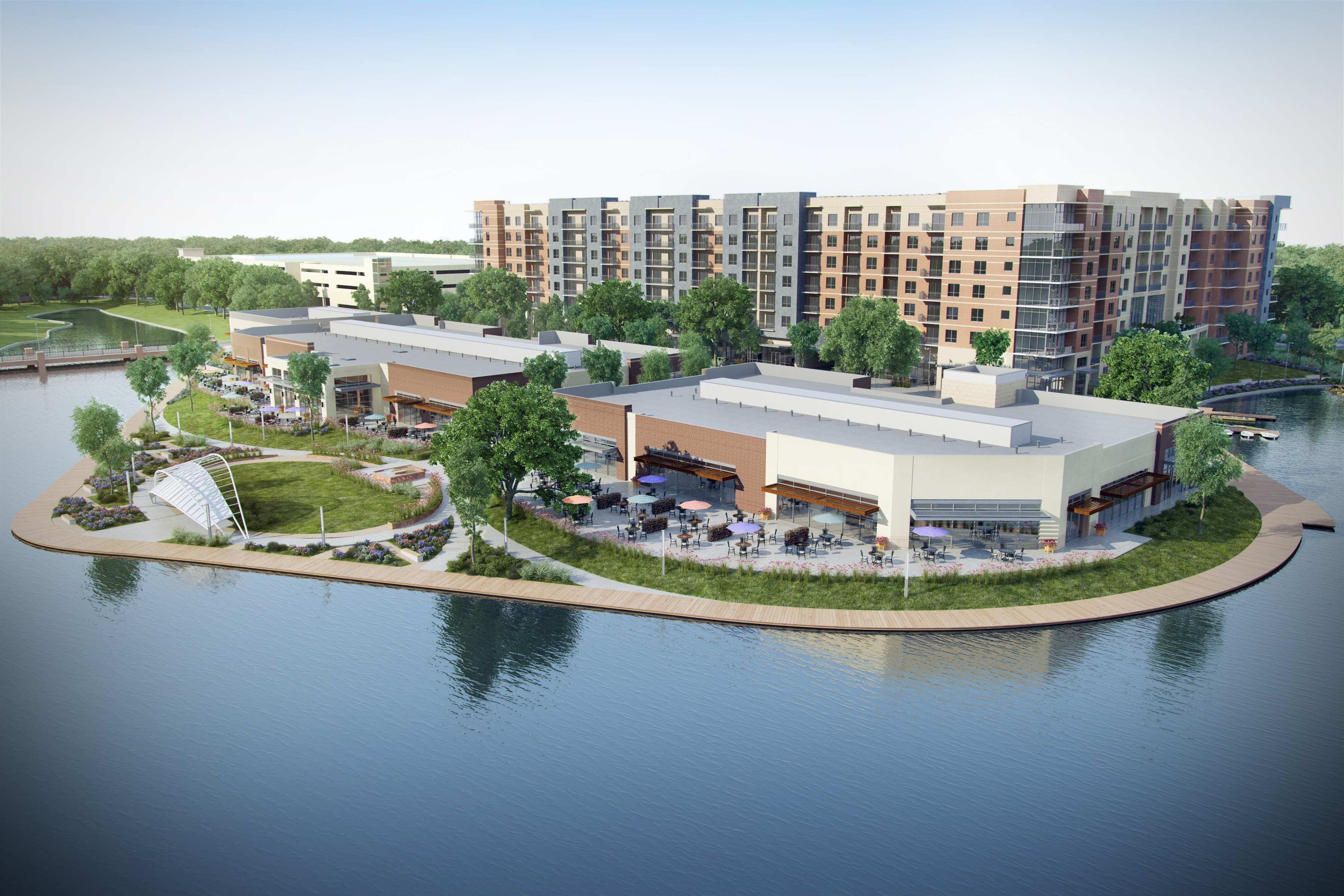 Apartments Near NHMCC One Lakes Edge for North Harris Montgomery Community College Students in The Woodlands, TX