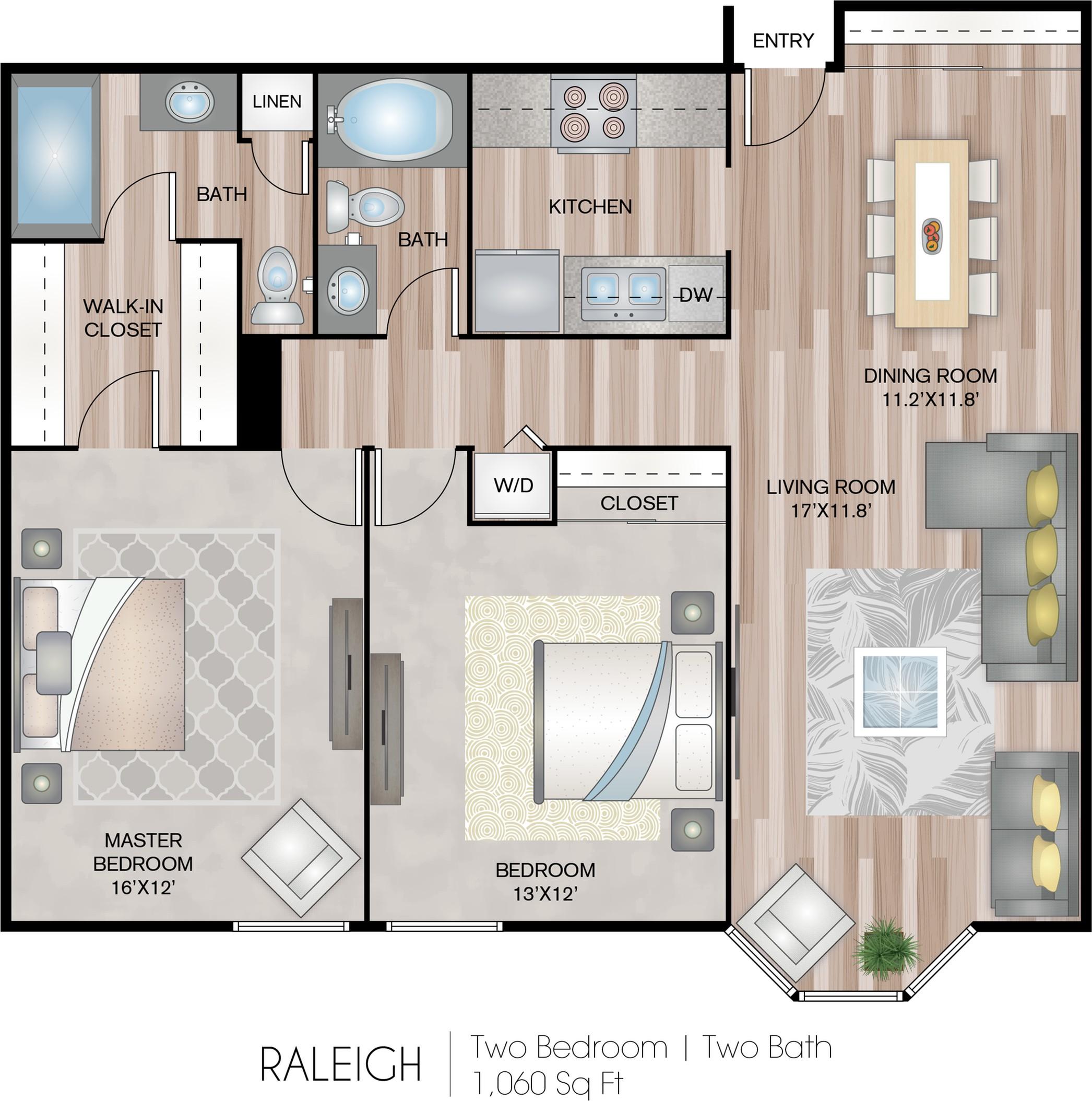 Studio Apartments Columbus Ohio: Bexley House Apartment Homes, Columbus