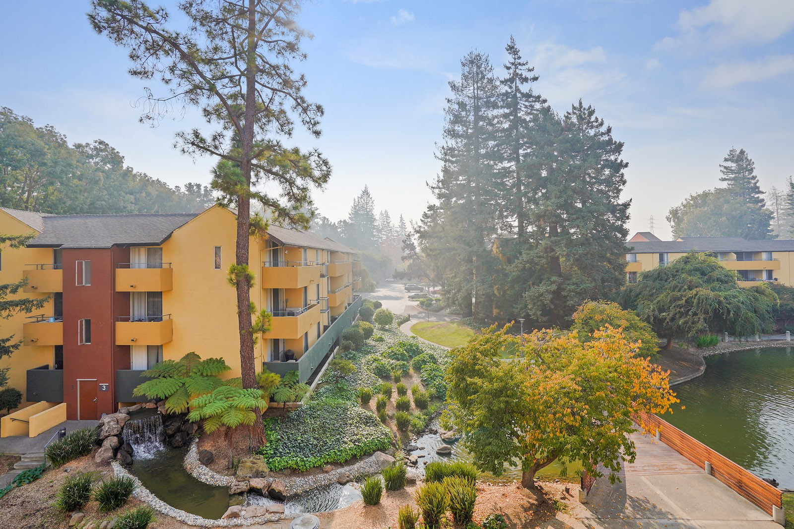 Apartments Near Foothill Americana Apartments for Foothill College Students in Los Altos Hills, CA