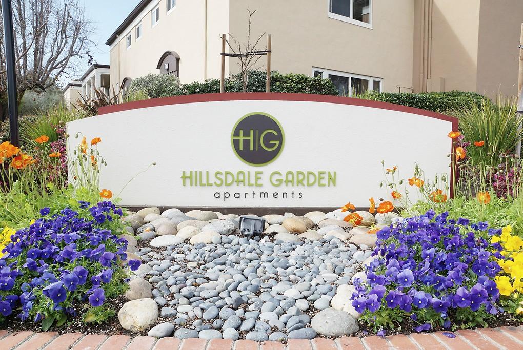 Hillsdale Garden for rent