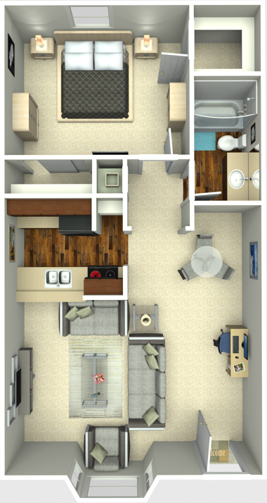 Solano Apartments for rent