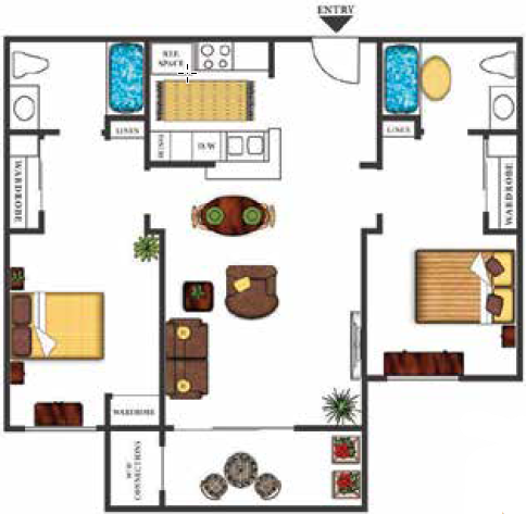 Palm Island Senior Apartment Homes