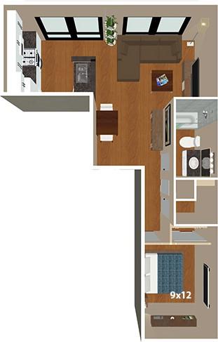 Bank & Boston Lofts Apartments