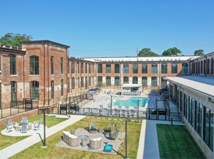 The Lofts at Hawthorne Mill