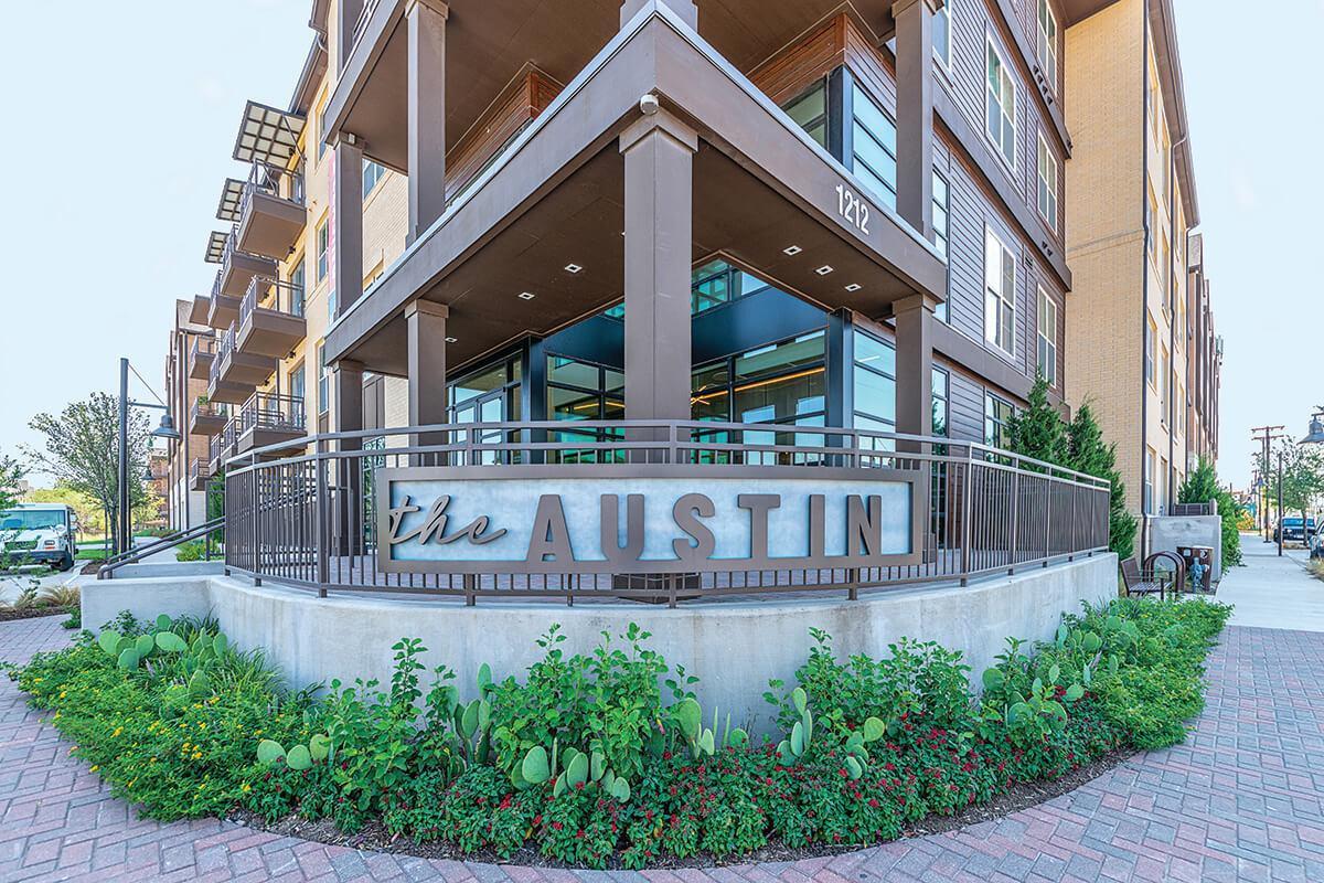The Austin at Trinity Green