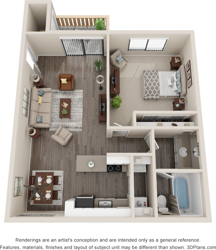 The Villas At Woodranch Apartments, Simi Valley