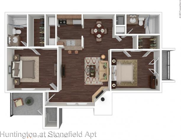 13100 Stonefield Drive rental