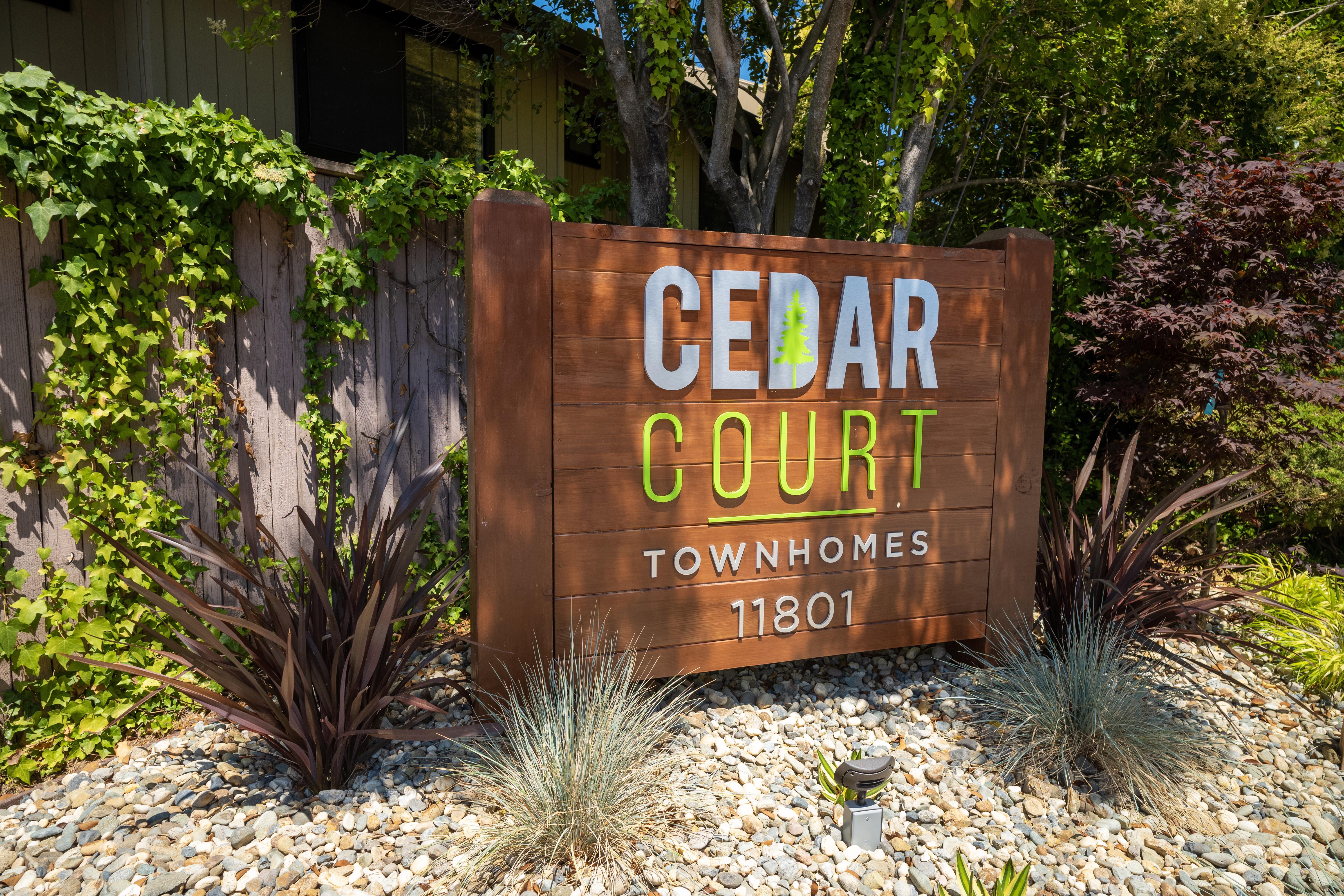 Cedar Court for rent