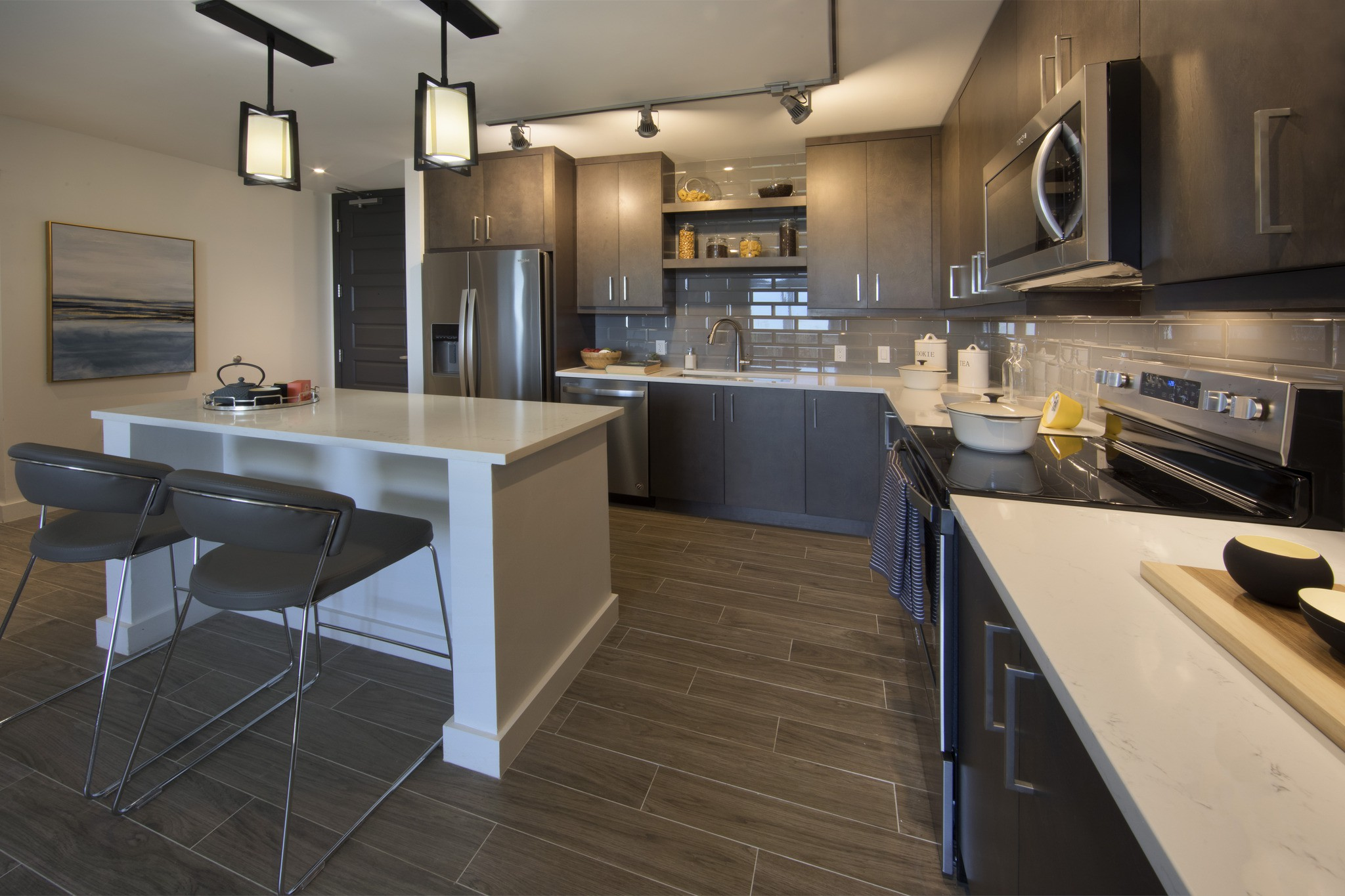 The Residences at THesis for rent