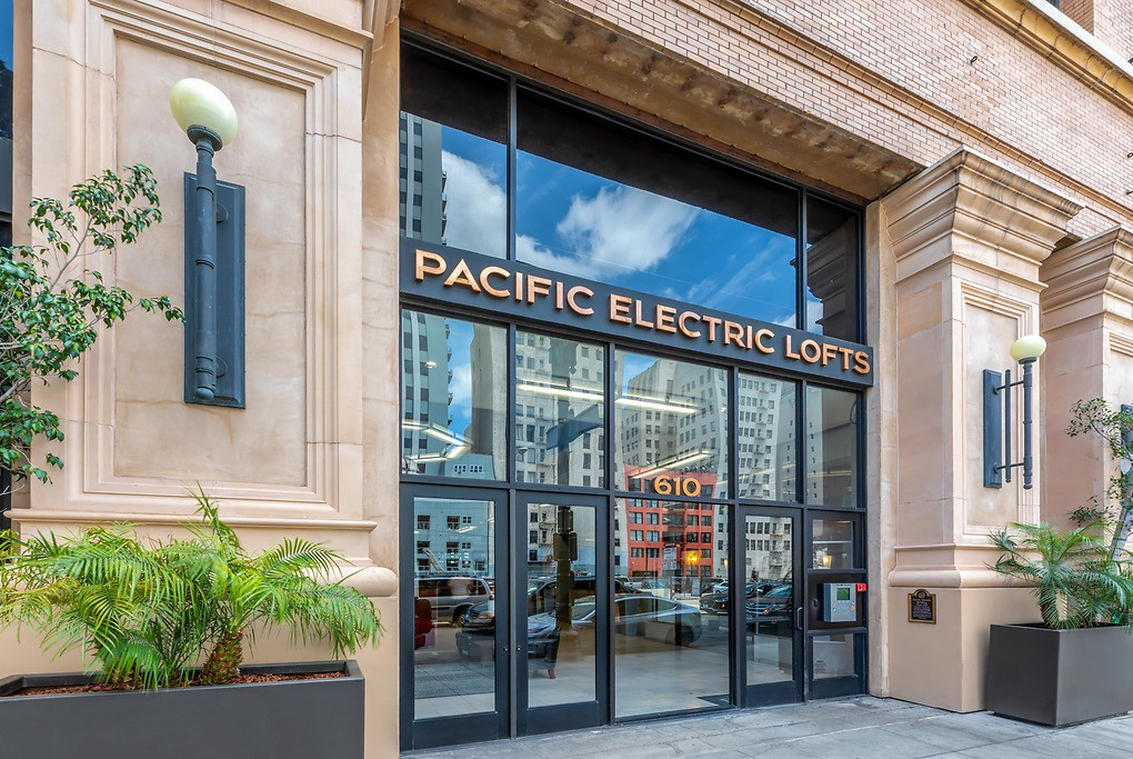 Pacific Electric Lofts for rent