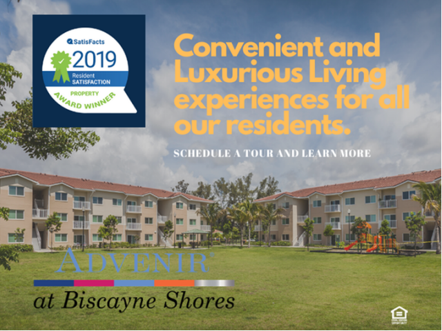 Apartments Near Barry Advenir at Biscayne Shores for Barry University Students in Miami Shores, FL