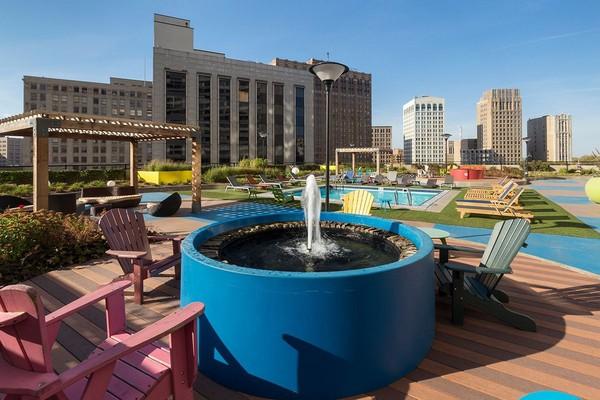 Detroit City Club Apartments rental