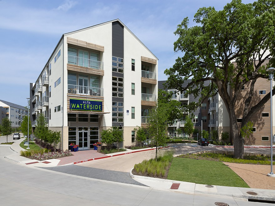 Apartments Near TCU Alta Waterside for Texas Christian University Students in Fort Worth, TX
