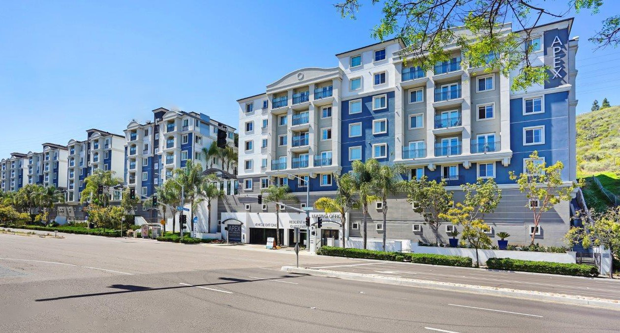Apartments Near SDSU Apex Mission Valley for San Diego State University Students in San Diego, CA