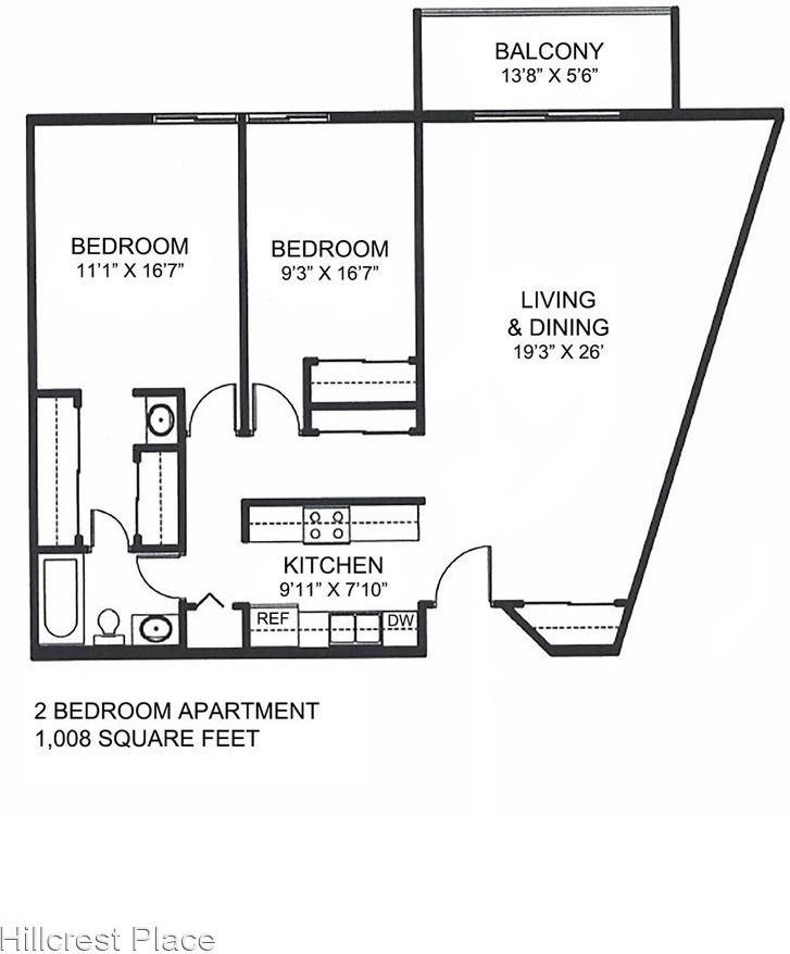 Hillcrest Place for rent
