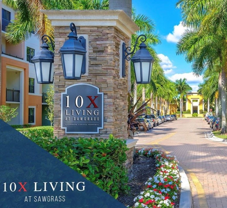 Apartments Near AIU South Florida 10X Living at Sawgrass for American Intercontinental University Students in Weston, FL