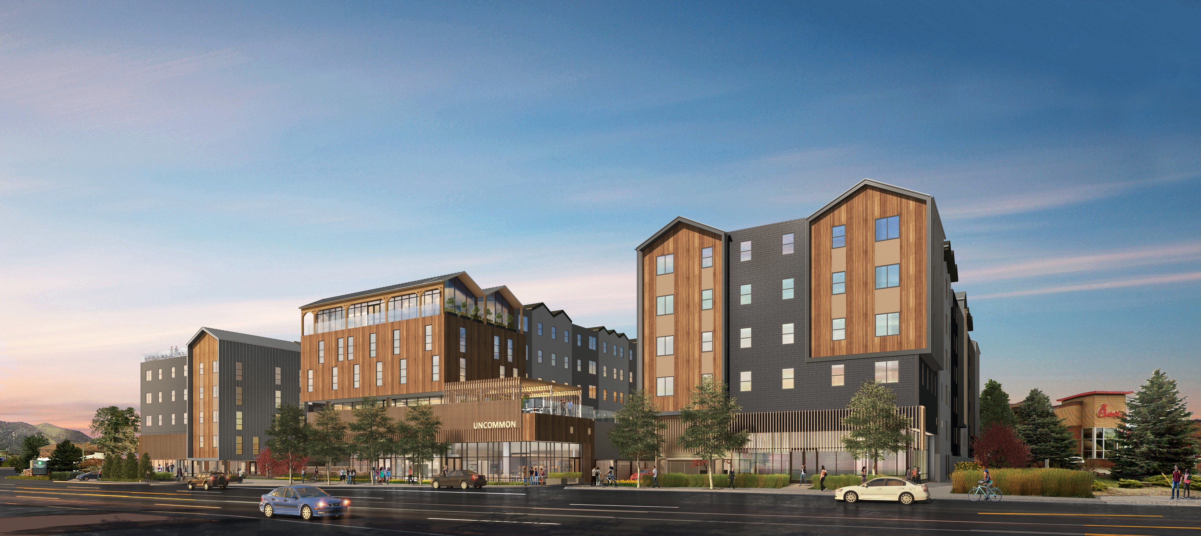 Apartments Near NAU Student Housing Coming 2021 - Uncommon Flagstaff for Northern Arizona University Students in Flagstaff, AZ