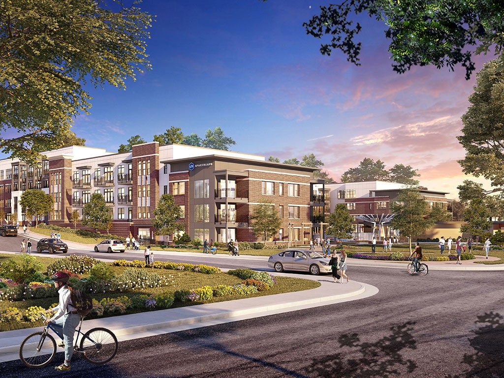 Apartments Near NCCU Link Apartments® Linden for North Carolina Central University Students in Durham, NC