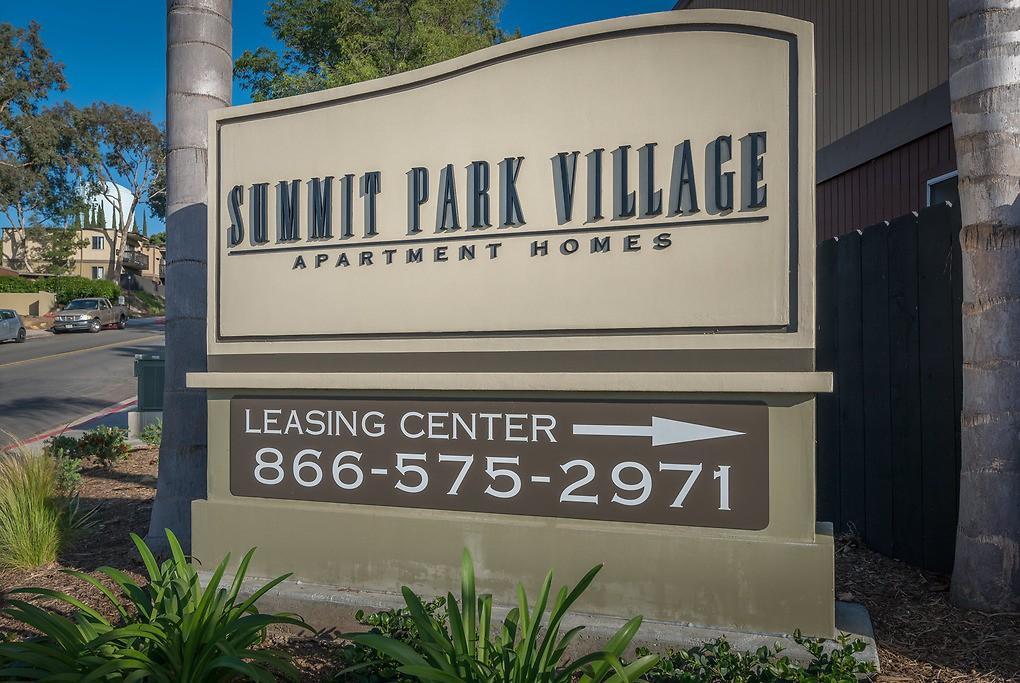 Summit Park Village for rent