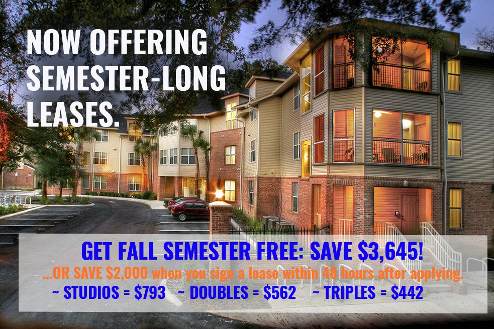 Apartments Near University of Florida Windsor Hall for University of Florida Students in Gainesville, FL