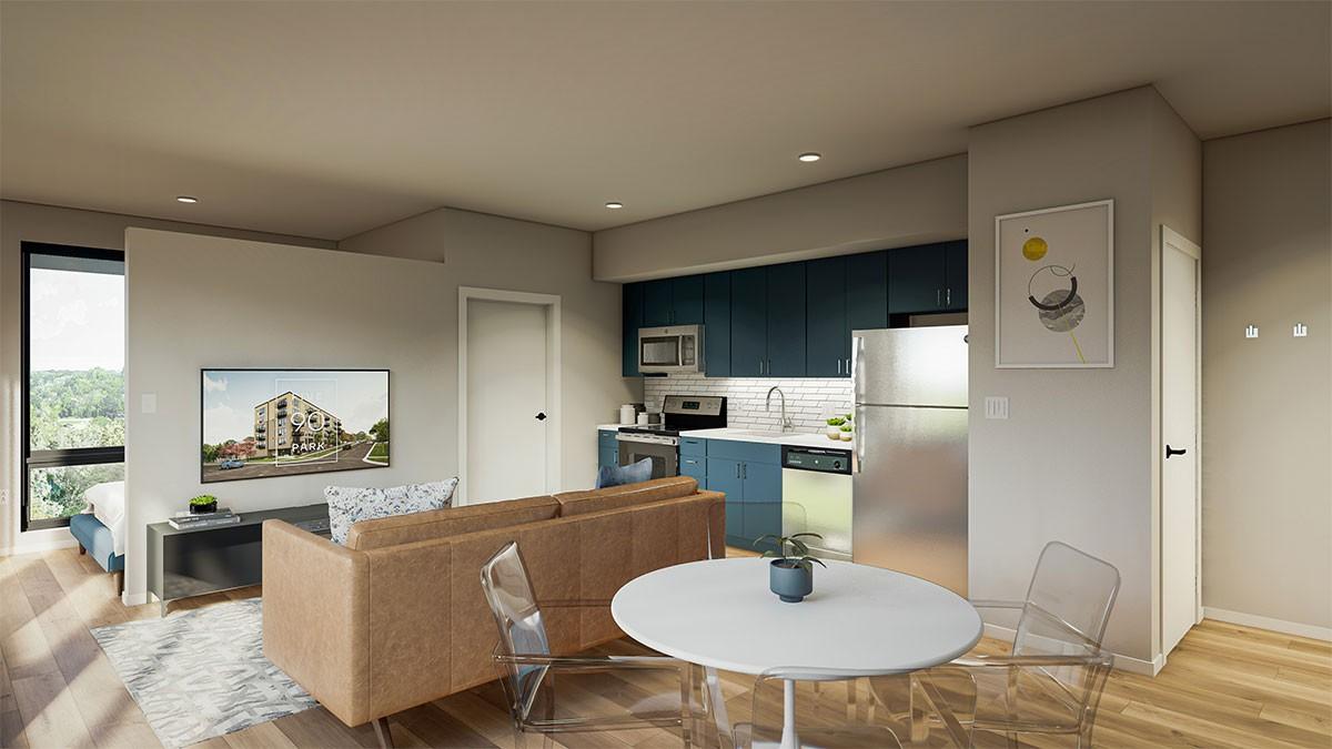 Five 90 Park Apartments rental
