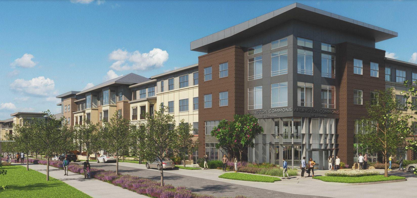 Apartments Near UT Arlington The Truman at Arlington Commons for University of Texas at Arlington Students in Arlington, TX