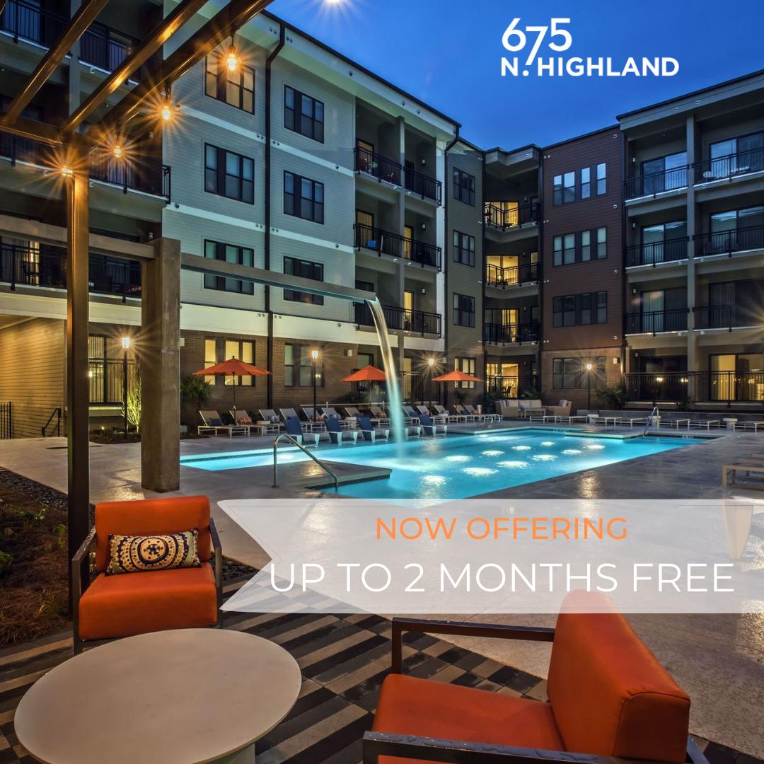 Apartments Near Atlanta 675 N Highland for Atlanta Students in Atlanta, GA