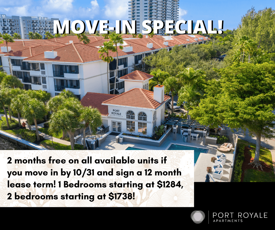 Apartments Near Keiser Port Royale | Fort Lauderdale, FL for Keiser University Students in Fort Lauderdale, FL