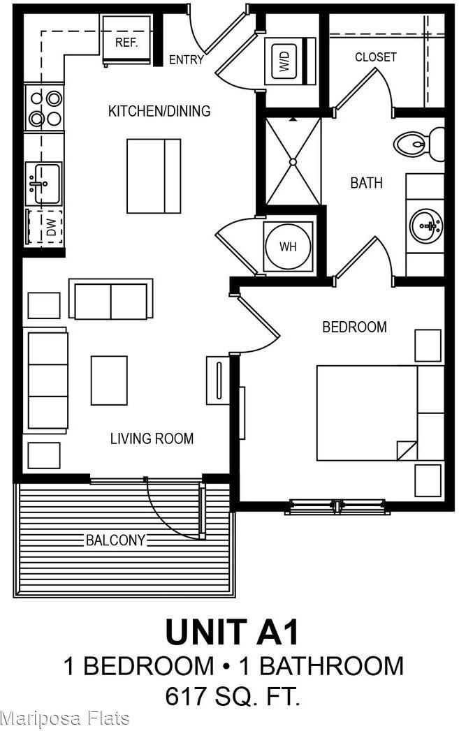 Apartments Near UT Austin Mariposa Flats for University of Texas - Austin Students in Austin, TX