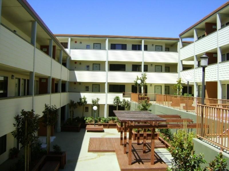 Hillside Courtyard